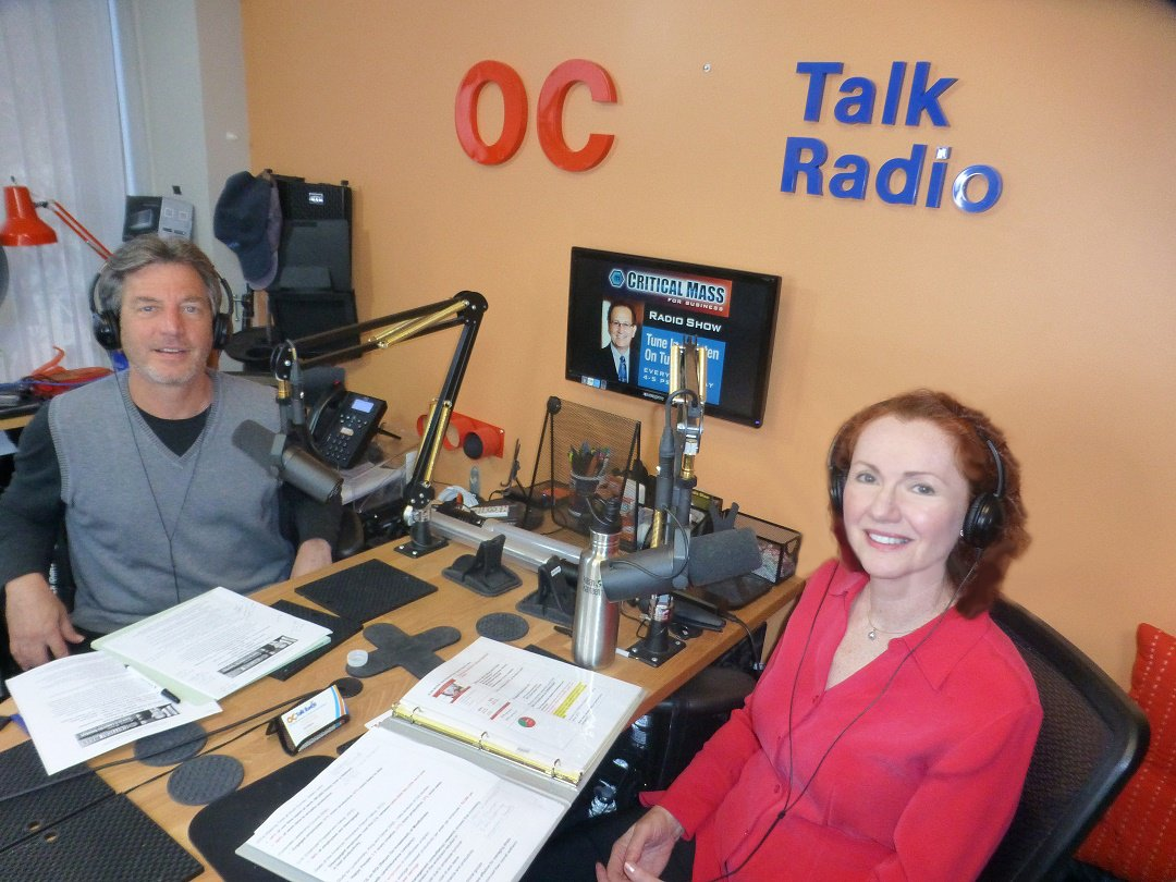 Mila talks about Mindfulness in business on Critical Mass Radio Show April 2016